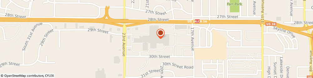 Route/map/directions to Speedy Jewelery Repair, 80631 Greeley, 2078 Greeley Mall