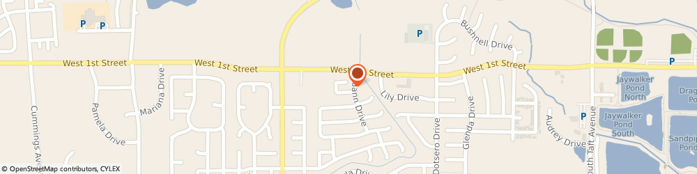 Route/map/directions to Mary Kay Cosmetics Independent Sales Directors, 80537 Loveland, 2591 BEGONIA COURT