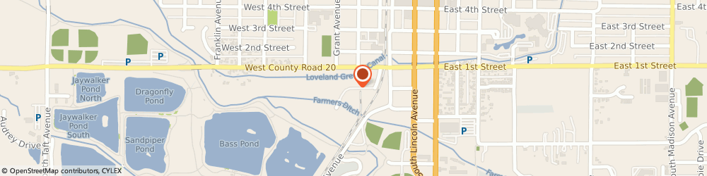 Route/map/directions to Cds Engineering, 80537 Loveland, 165 2Nd St Sw