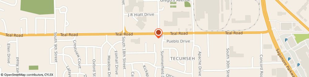 Route/map/directions to Navy Federal Credit Union, 47905 Lafayette, 2111 Teal Rd