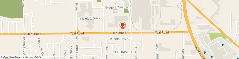 Route/map/directions to Burger King, 47905 Lafayette, 2338 Teal Rd