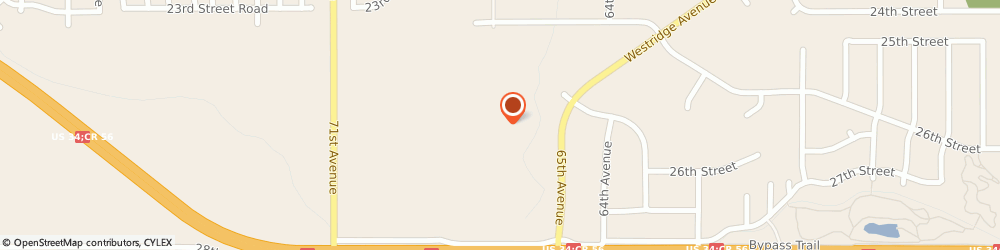 Route/map/directions to WALMART STORE GREELEY, 80634 Greeley, 920 47Th Ave