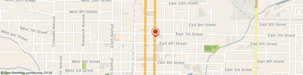 Route/map/directions to Alyssa Anisimow, Bankers Life Agent, 80537 Loveland, 200 East 7th St