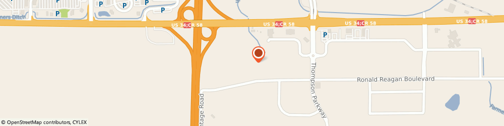 Route/map/directions to The Journey Financial Group, 80534 Johnstown, 5245 Ronald Reagan Blvd