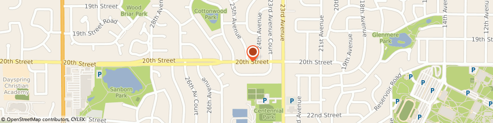 Route/map/directions to Now & Then Digital Imaging Studios, 80631 Greeley, 707 E 20th St
