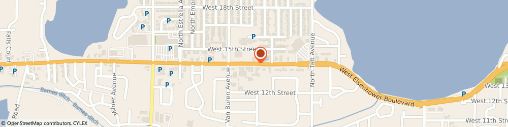 Route/map/directions to Americas Mortgage, 80537 Loveland, 1720 WEST EISENHOWER BOULEVARD # 5B