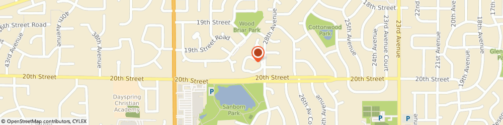Route/map/directions to Youngers Insights, 80634 Greeley, 1951 28TH AVE # 29