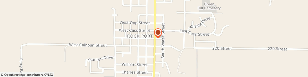 Route/map/directions to Shelter Insurance - Jerry LeFever, 64482 Rock Port, 109 W Clay