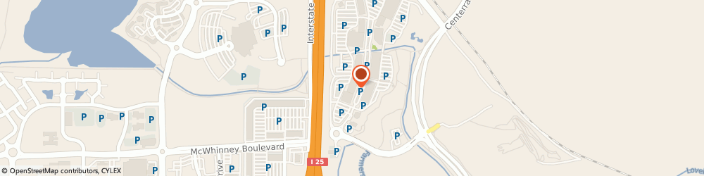 Route/map/directions to Xfinity Store by Comcast, 80538 Loveland, 5855 Sky Pond Drive