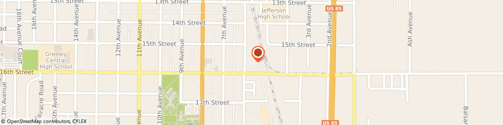Route/map/directions to Southern Heritage Builders, LLC, 80631 Greeley, 1530 6th ave