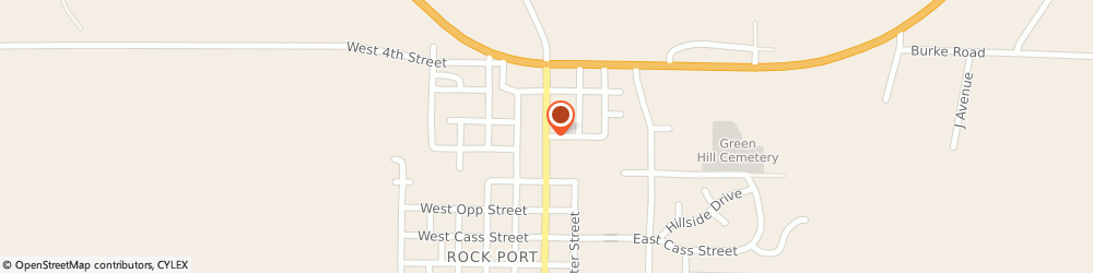 Route/map/directions to American Family Insurance- Lewis, Jim, 64482 Rock Port, 101 N MAIN ST
