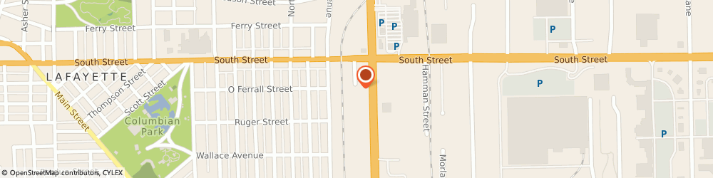 Route/map/directions to PNC BANK, 47905 Lafayette, 50 Sagamore Pkwy S