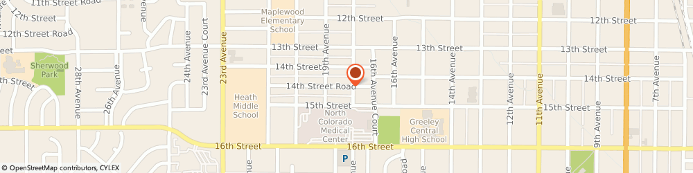 Route/map/directions to Freestyle Images Photography, 80631 Greeley, 1822 14TH STREET ROAD