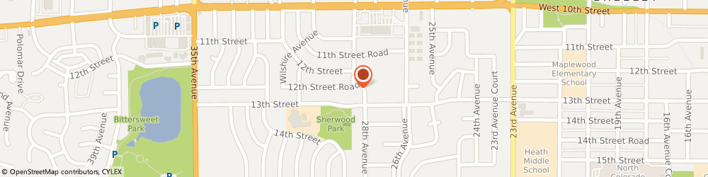 Route/map/directions to Superior Tax Services, 80634 Greeley, 1223 28th Ave #1