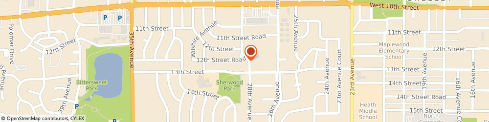 Route/map/directions to Above & Beyond Tax Service, 80634 Greeley, 1223 28th Avenue