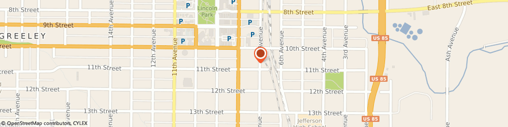 Route/map/directions to David Auto Sales, 80631 Greeley, 711 11TH ST
