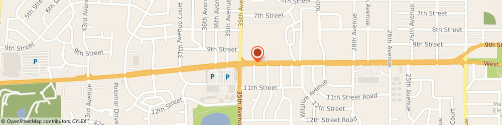 Route/map/directions to Crews Jewelers, 80634 Greeley, 3483 WEST 10TH STREET SUITE B