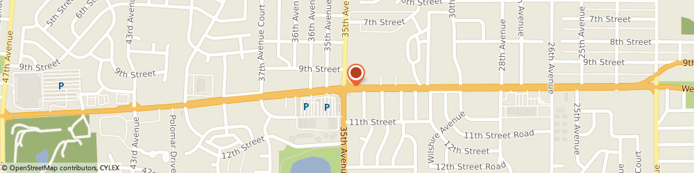 Route/map/directions to Jackson Hewitt Tax Service, 80634 Greeley, 3489 W 10Th St, Ste B