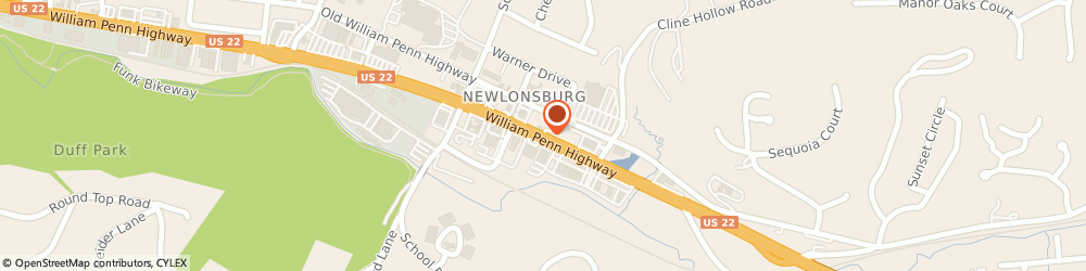Route/map/directions to Citizens Bank, 15668 Murrysville, 4810 William Penn Highway