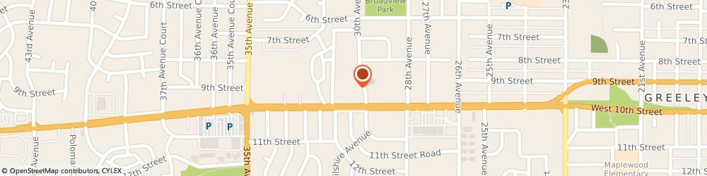 Route/map/directions to Lucy Robert Associates Incorporated, 80634 Greeley, 907 30TH AVENUE SUITE 104