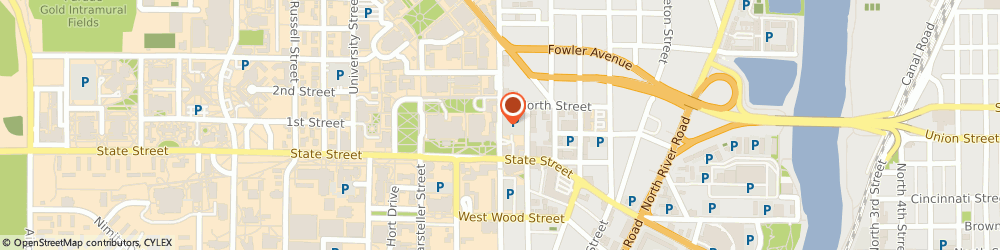 Route/map/directions to PNC BANK, 47906 Lafayette, 101 N Grant St