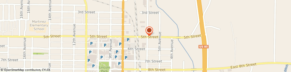 Route/map/directions to Behrends Bob Roofing & Gutters LLC, 80631 Greeley, 615 5th St