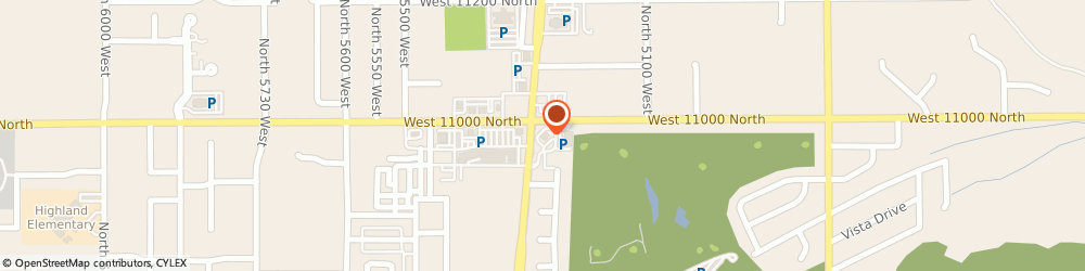 Route/map/directions to Wells Fargo Bank, 84003 Highland, 5285 W 11000 N