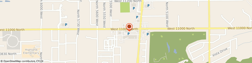 Route/map/directions to Atm Great Western Bank, 84003 Highland, 5405 West 11000 North
