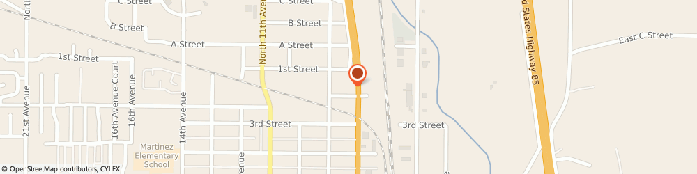 Route/map/directions to Rental Service, 80631 Greeley, 125 8TH AVE