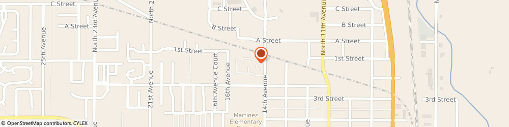 Route/map/directions to Mario and Perla's Roofing and Restoration LLC, 80631 Greeley, 115 14th Ave