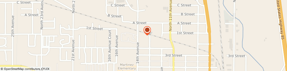 Route/map/directions to Douglass Roofing Co, 80631 Greeley, 110 14TH AVENUE