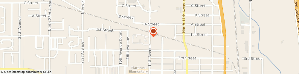Route/map/directions to Douglass Colony Group, 80631 Greeley, 110 14th Ave