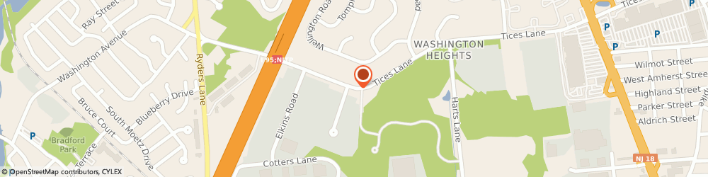 Route/map/directions to Raritan Valley YMCA, 08816 East Brunswick, 144 Tices Lane