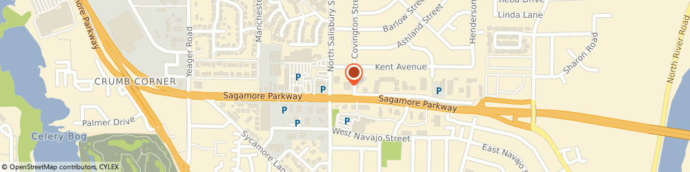 Route/map/directions to PNC BANK, 47906 Lafayette, 512 Sagamore Pkwy W
