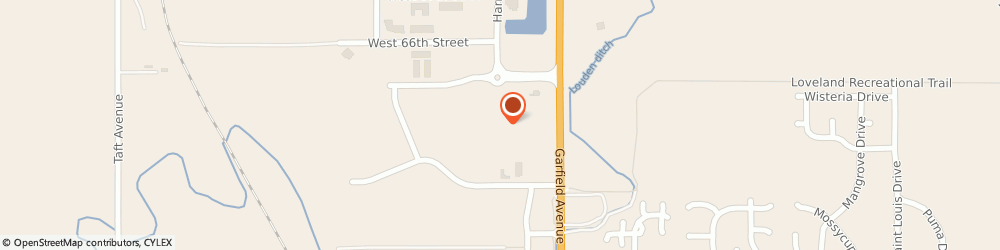 Route/map/directions to SmartStyle, 80538 Loveland, 250 W 65Th St