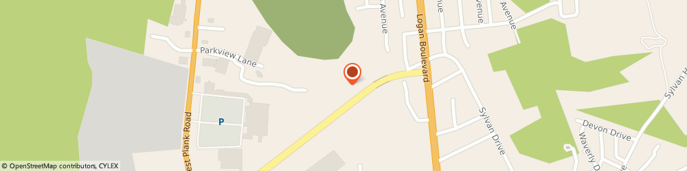 Route/map/directions to Courtyard by Marriott Altoona, 16602 Altoona, 2 Convention Center Drive