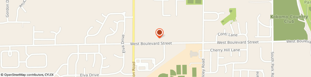 Route/map/directions to Kimberly S. Beard, DDS, 46902 Kokomo, 2362 West Boulevard