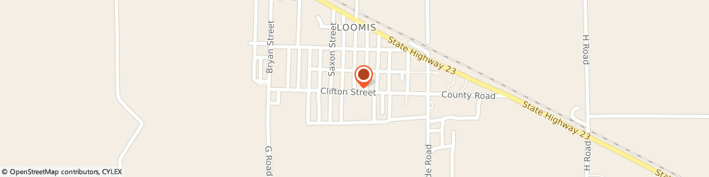 Route/map/directions to Lighthouse Baptist Church, 68958 Loomis, 112 COMMERCIAL STREET