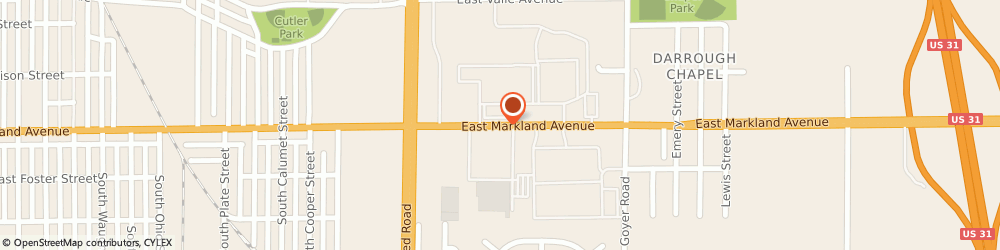 Route/map/directions to Hair Care East, 46901 Kokomo, 2016 EAST MARKLAND AVENUE