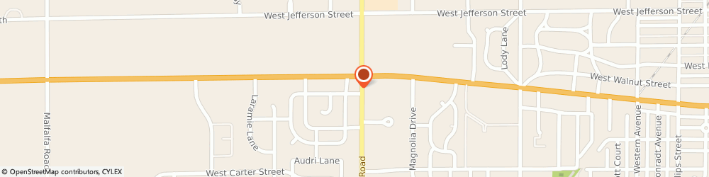 Route/map/directions to Nationwide CRUME-EVANS INSURANCE, 46901 Kokomo, 115 South Dixon Road