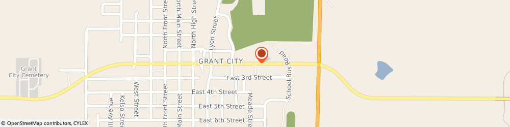 Route/map/directions to Navy Federal Credit Union, 64456 Grant City, 1100 E 2Nd St