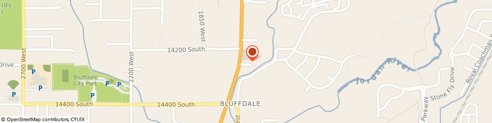 Route/map/directions to STATE FARM Stu Anderson, 84065 Bluffdale, 14241 S Redwood Rd