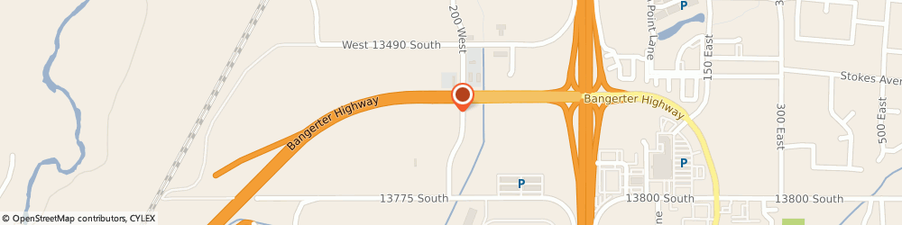 Route/map/directions to McDonald's, 84020 Draper, 13628 South 200 West