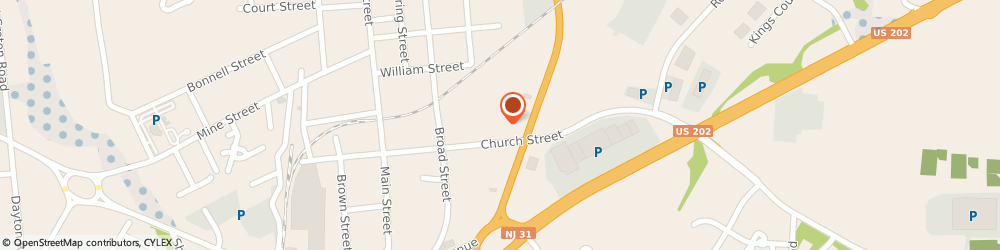 Route/map/directions to Wells Fargo Bank, 08822 Flemington, 74 Church St