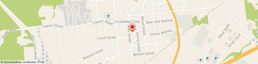 Route/map/directions to Bank of America, 08822 Flemington, 56 Main St Ste 1c