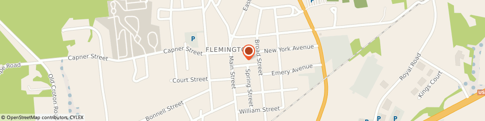 Route/map/directions to Progressive Casualty Insurance Agent, 08822 Flemington, 20 Bloomfield Avenue