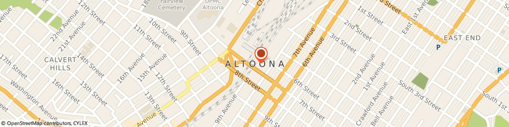 Route/map/directions to Laboratory Corporation Of America, 16601 Altoona, 615 Howard Ave 1St Fl