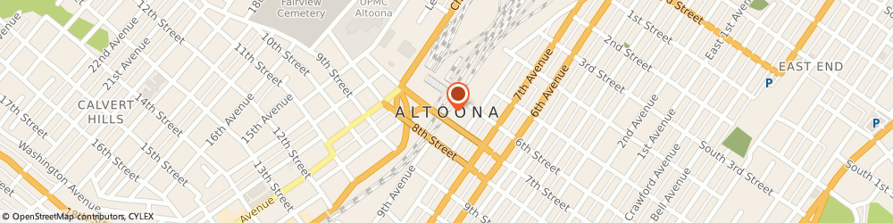 Route/map/directions to Birthright Of Blair Altoona, 16602 Altoona, 2706 7Th Ave.