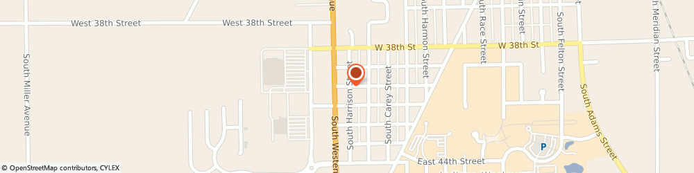 Route/map/directions to Miller John Body Shop, 46953 Marion, 615 WEST 40TH STREET