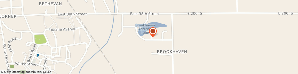 Route/map/directions to Ace Appliance Service, 46953 Marion, 3818 S Roselawn Ct